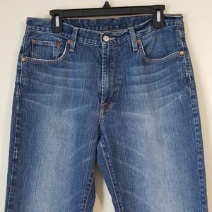 Lucky brand dungarees bootcut size 32